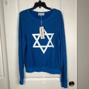 Wildfox Star of David sweater